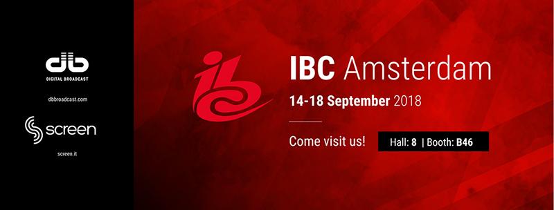 IBC 2018 RAI Amsterdam. Come visit us!
