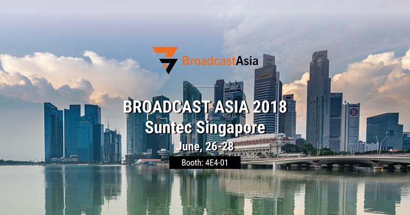BroadcastAsia 2018