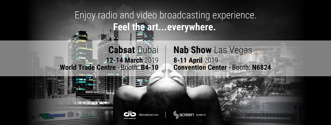 Get Ready for CABSAT and NAB 2019