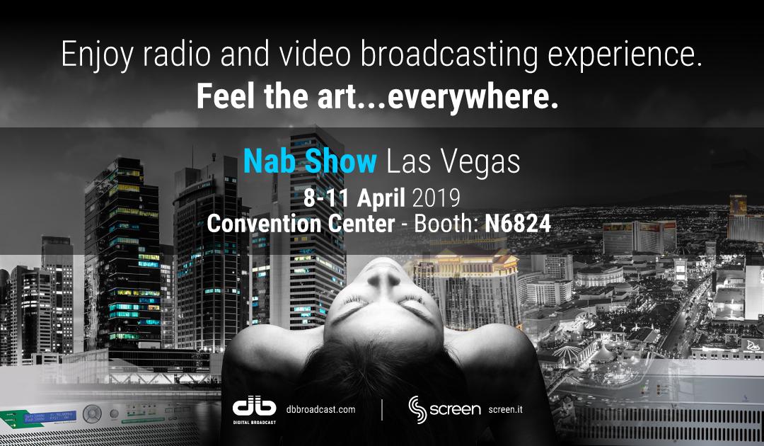 NAB Show 2019 Las Vegas 8/11 Aprile