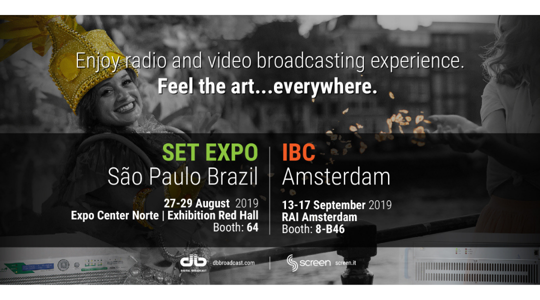 Set Expo Brazil and IBC Amsterdam 2019
