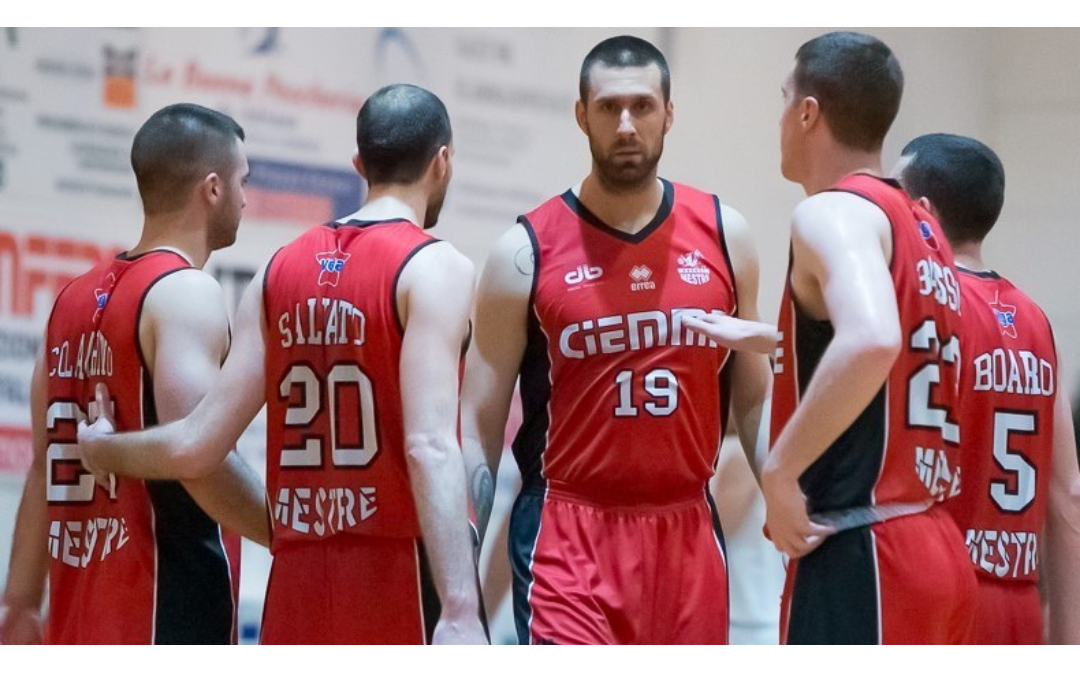 Our sponsored Basket Mestre 1958 team is officially in Series B!